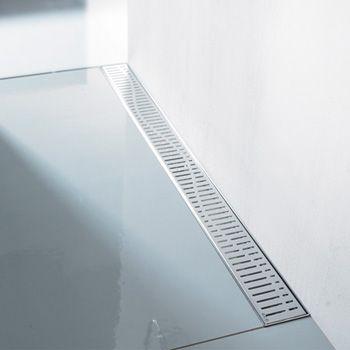 ACO prohromska tuš kanalica sa rešetkom za montažu do zida