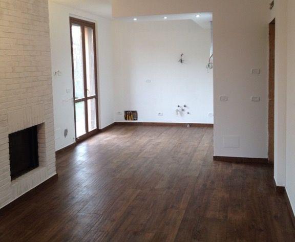 dnevna soba marazzi treverk home / dekorativne ciglice od modelarskog gipsa
