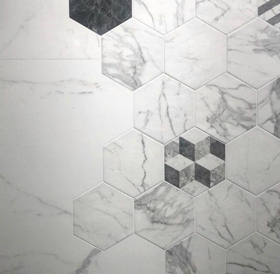marazzi all marble hexagon