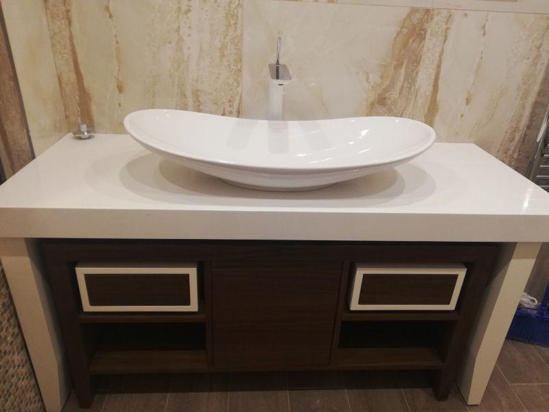 sandra gajeva villeroy & boch my nature lavabo i hansgrohe pura vida visoka baterija