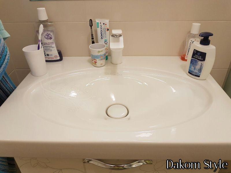 bjanka stankovic la belle umivaonik / kludi balance white baterija za umivaonik