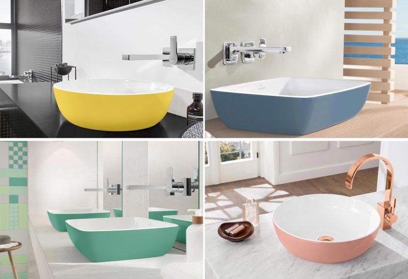 Villeroy & Boch Artis - umivaonici u boji