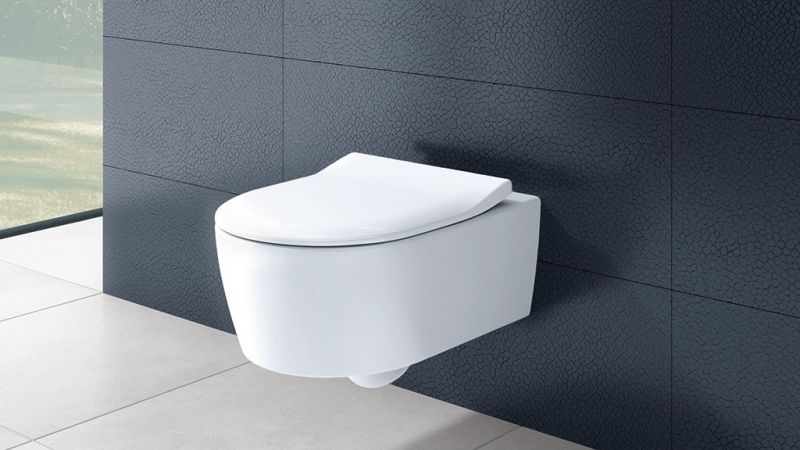 villeroy & boch konzolna wc šolja avento sa slim slow close wc daskom