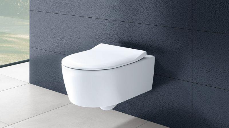 Villeroy & Boch konzolna wc šolja Avento Direct Flush sa Slim wc daskom