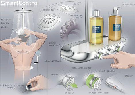 grohe tuš sa termostatskom baterijom smart control system 7