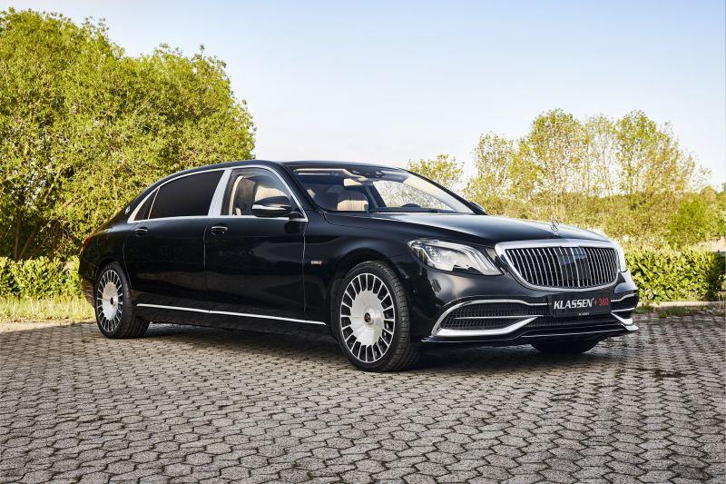 klassen luxury cars mirror tv