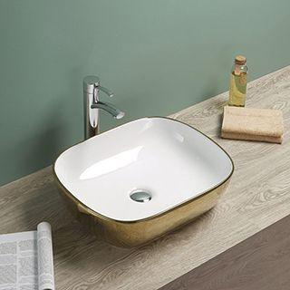 rubicer zlatni nadgradni umivaonik