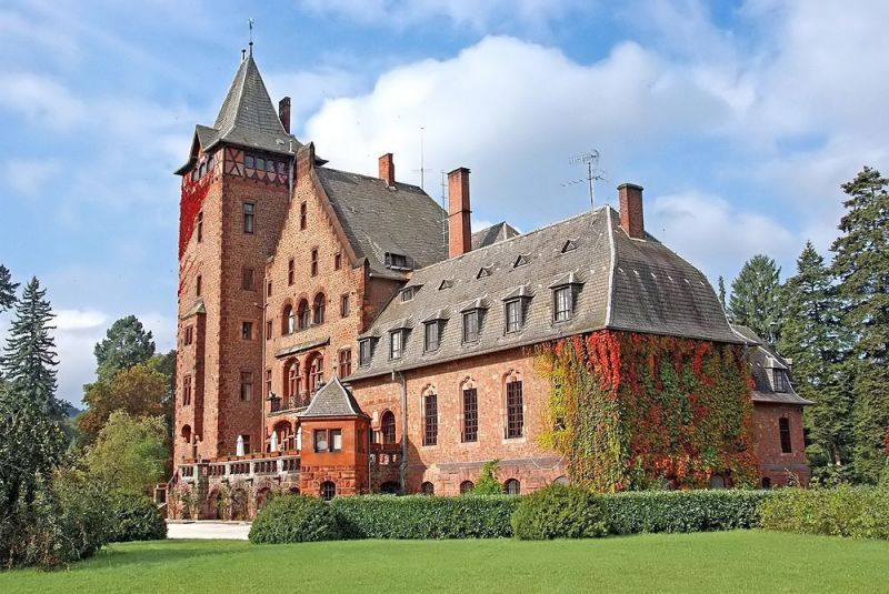 Schloss Saareck Castle, Mettlach Germany