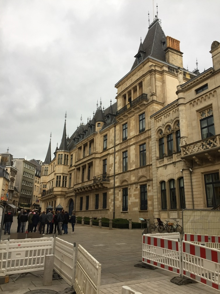 Poseta Villeroy & Boch, Grand Ducal Palace, Luxembourg