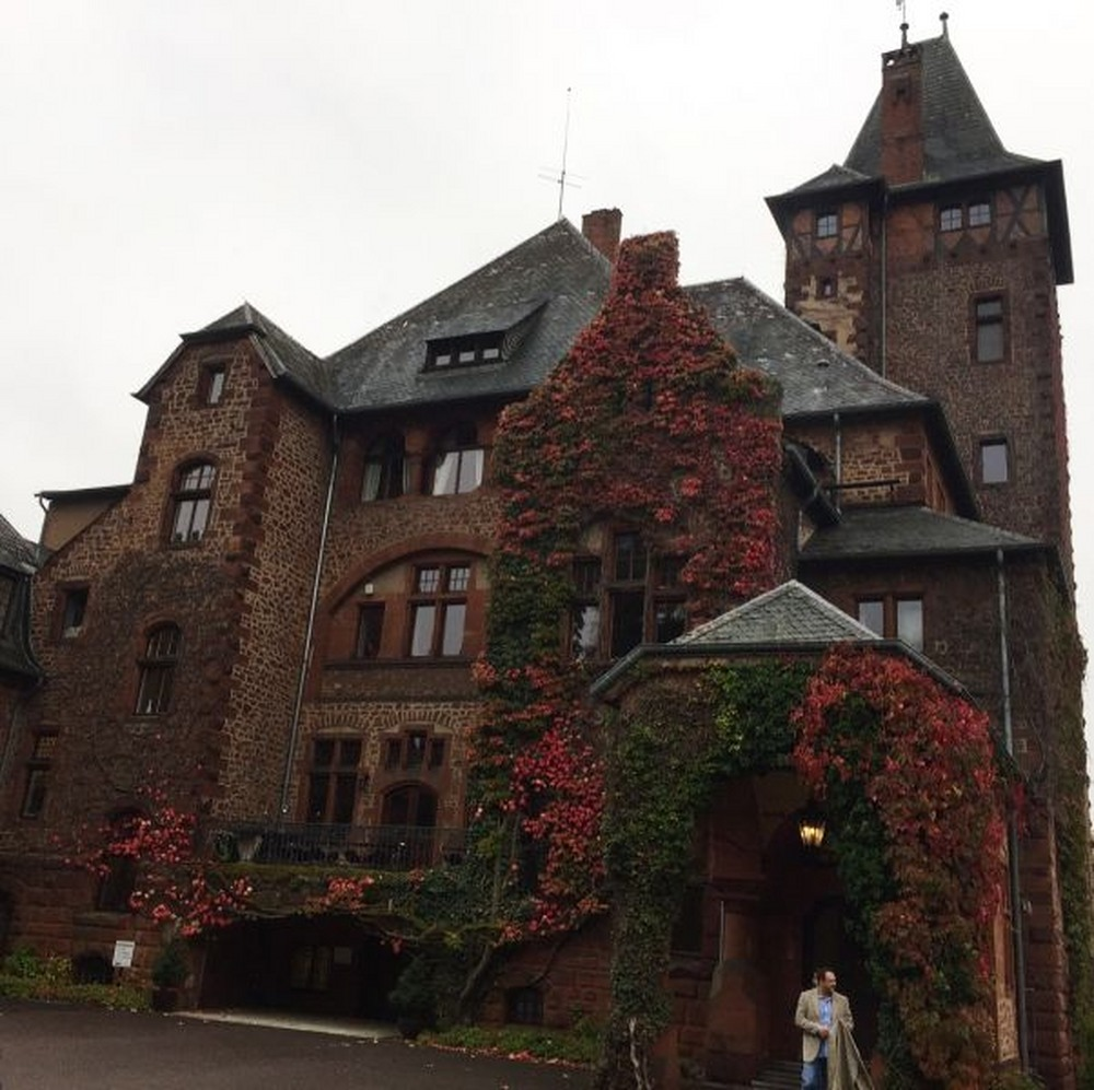 Poseta Villeroy & Boch, Mettlach Schloss Saareck Castle